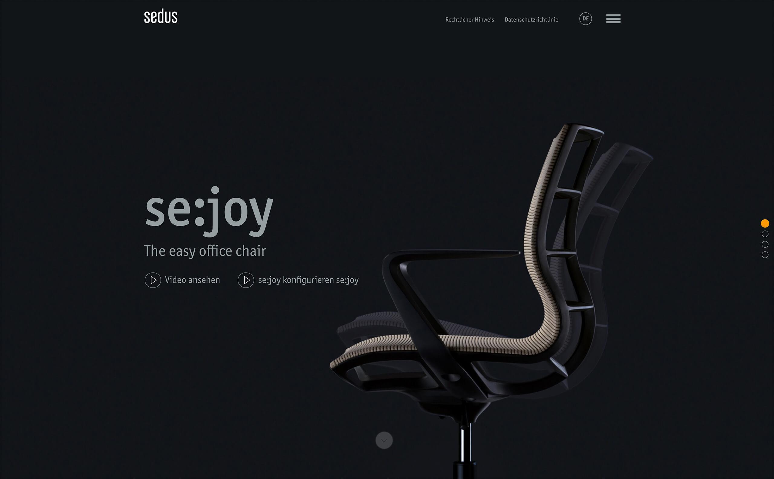 arbeiten f r den b rom belhersteller sedus stoll kommunikation design. Black Bedroom Furniture Sets. Home Design Ideas